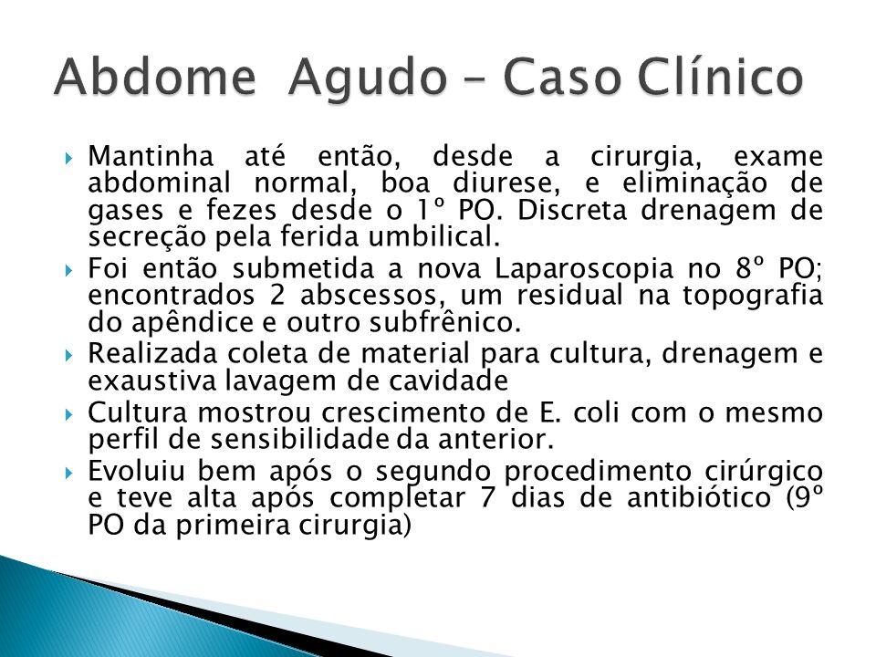 Abdome Agudo – Caso Clínico