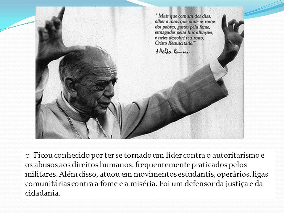Ficou conhecido por ter se tornado um líder contra o autoritarismo e os abusos aos direitos humanos, frequentemente praticados pelos militares.