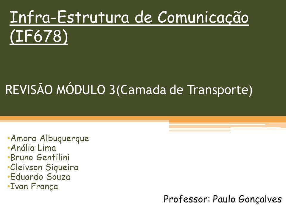 REVISÃO MÓDULO 3(Camada de Transporte)