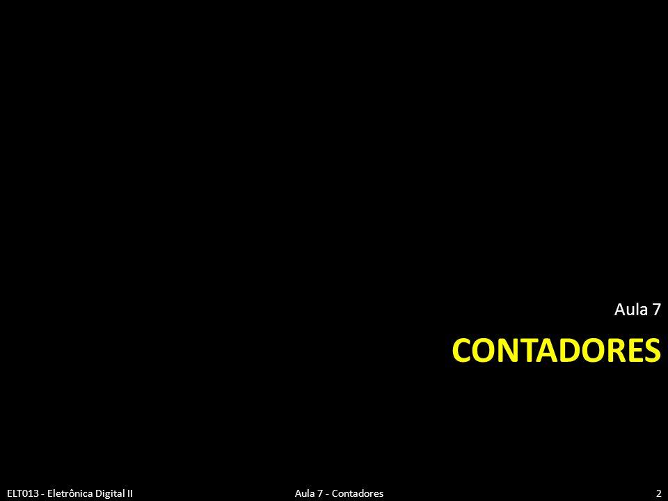Aula 7 Contadores.