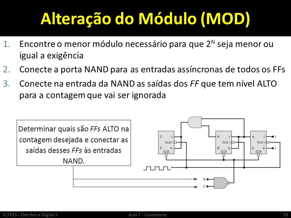 Alteração do Módulo (MOD)