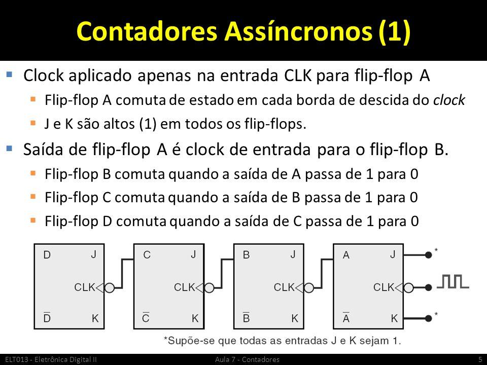 Contadores Assíncronos (1)