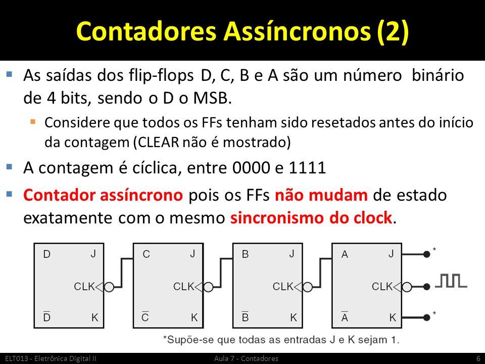 Contadores Assíncronos (2)
