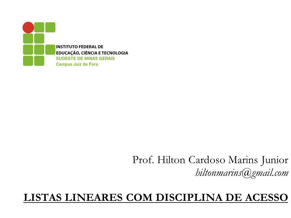 Prof. Hilton Cardoso Marins Junior hiltonmarins@gmail