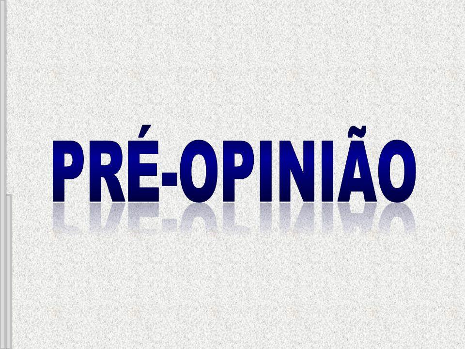 Pré-opinião