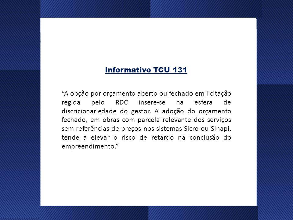 Informativo TCU 131