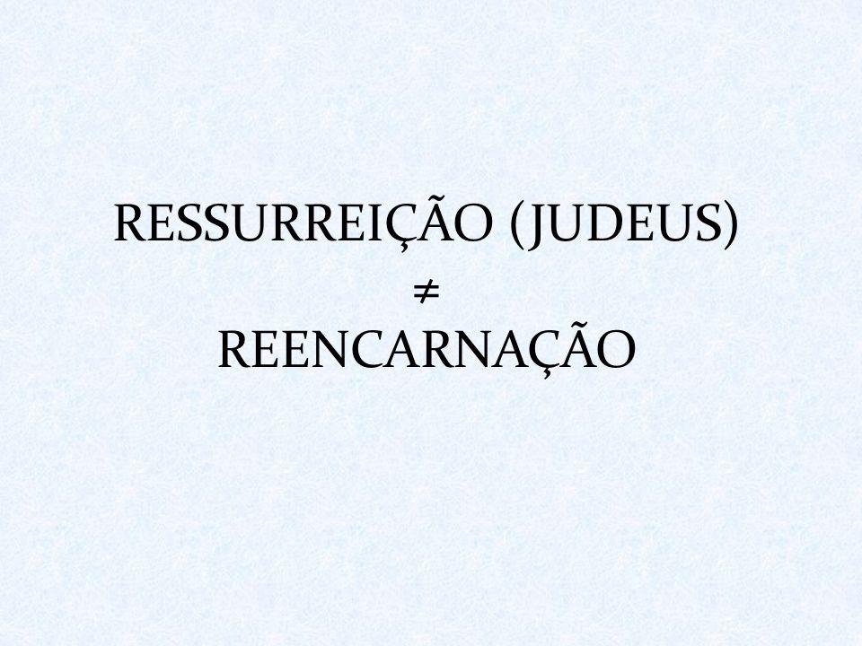 RESSURREIÇÃO (JUDEUS)
