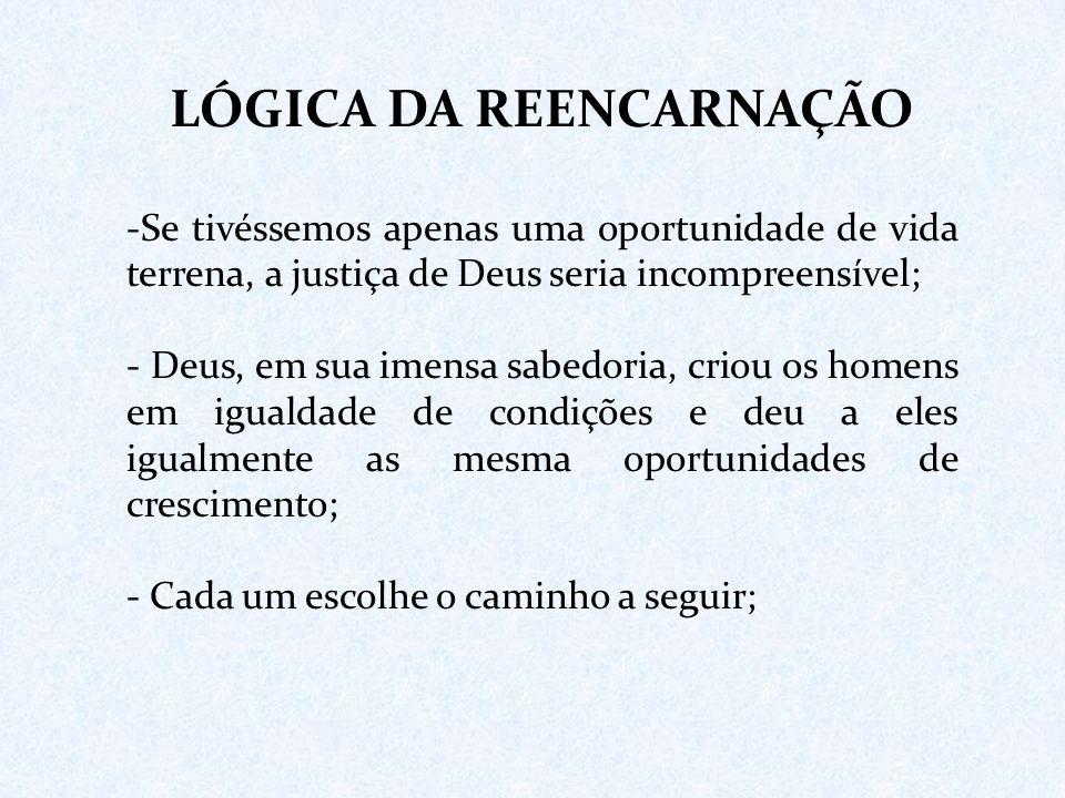 LÓGICA DA REENCARNAÇÃO
