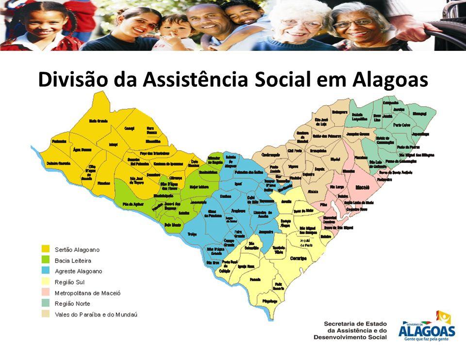 Divisão da Assistência Social em Alagoas