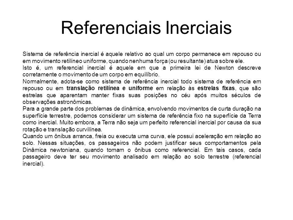 Referenciais Inerciais