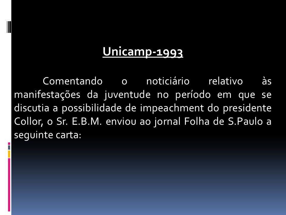 Unicamp-1993