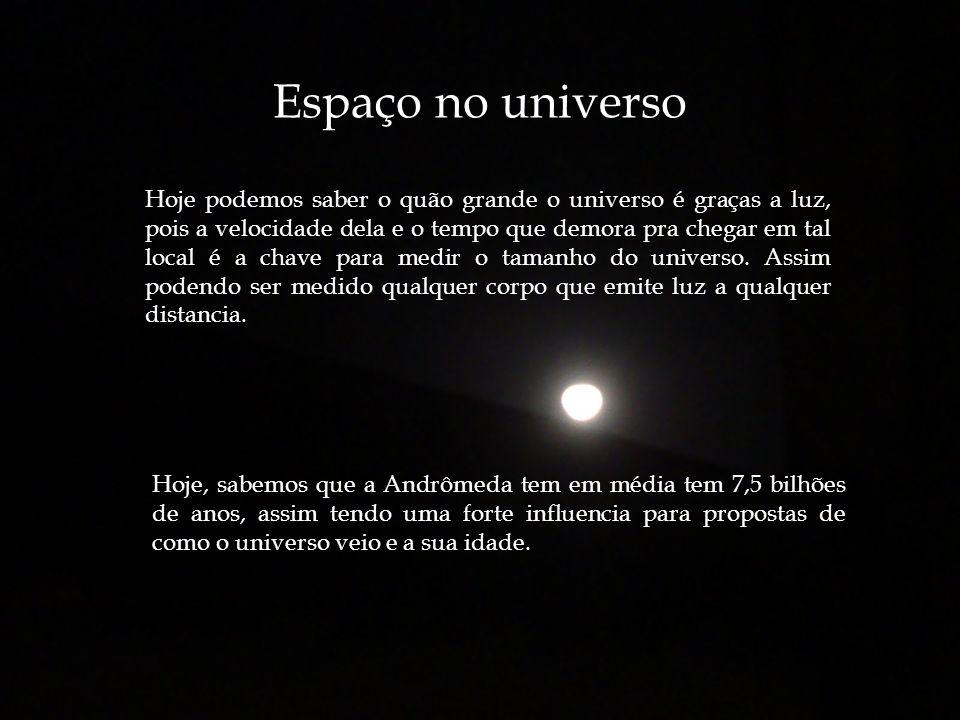 Espaço no universo