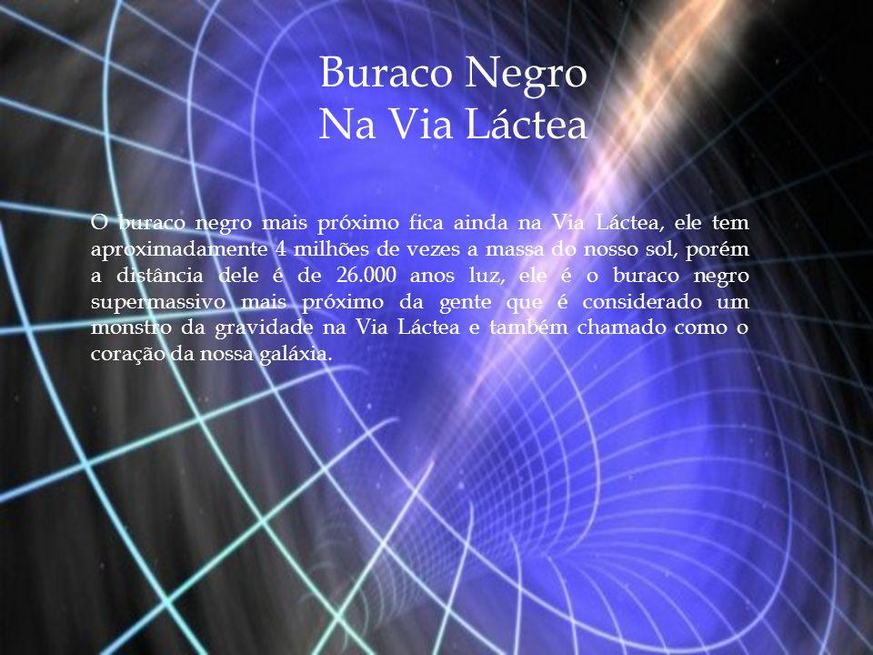 Buraco Negro Na Via Láctea