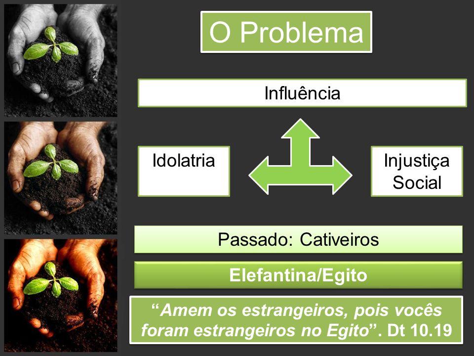 O Problema Influência Idolatria Injustiça Social Passado: Cativeiros