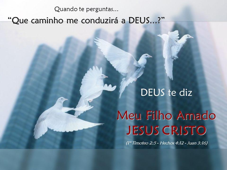 Meu Filho Amado JESUS CRISTO DEUS te diz