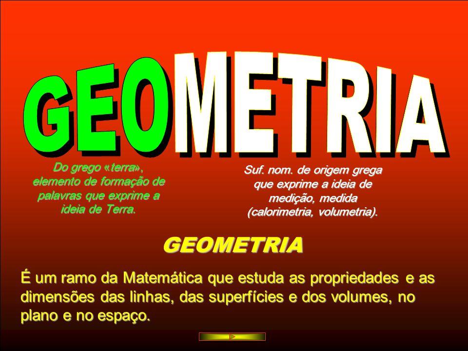 GEOMETRIA GEO METRIA GEOMETRIA