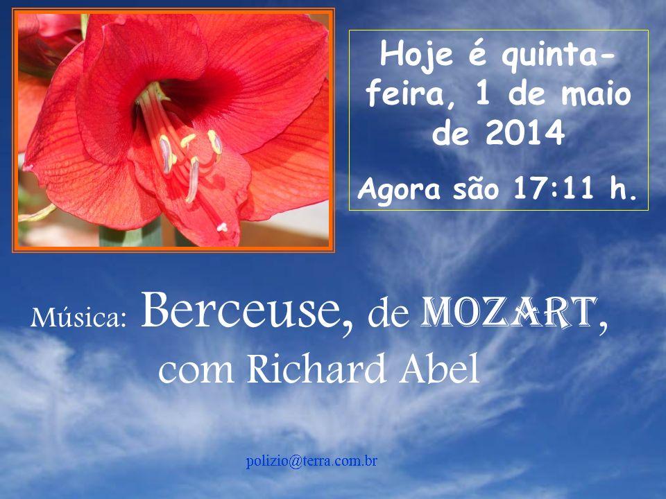 Música: Berceuse, de Mozart,