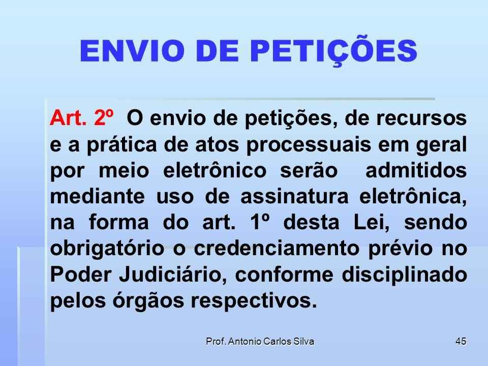Prof. Antonio Carlos Silva