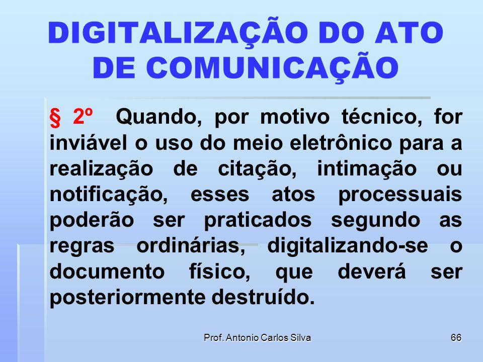 DIGITALIZAÇÃO DO ATO DE COMUNICAÇÃO
