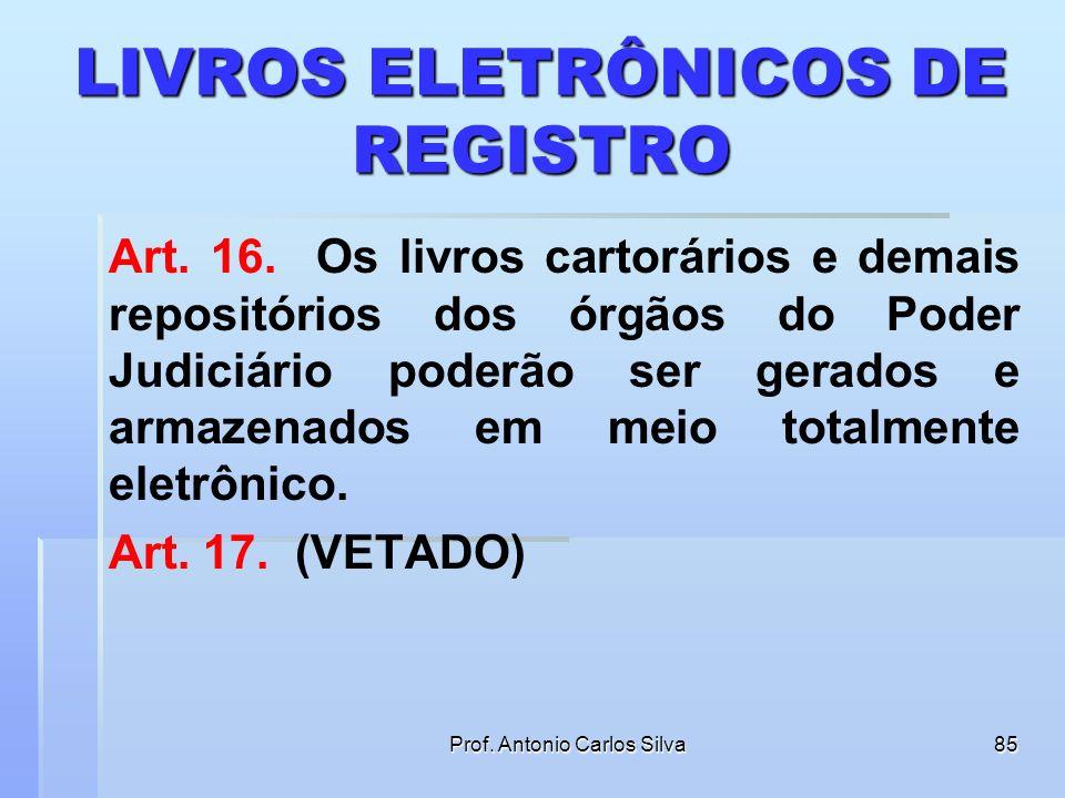 LIVROS ELETRÔNICOS DE REGISTRO