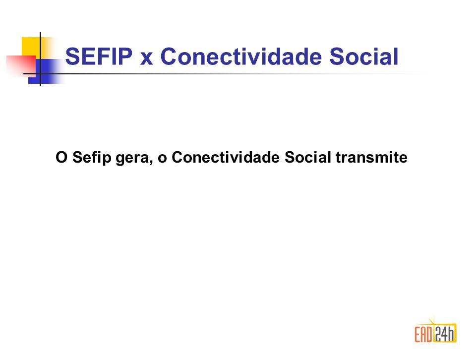 SEFIP x Conectividade Social
