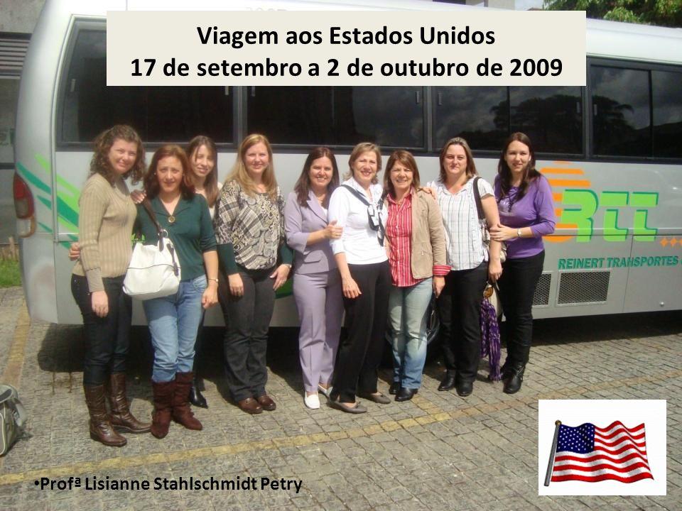 Viagem aos Estados Unidos 17 de setembro a 2 de outubro de 2009