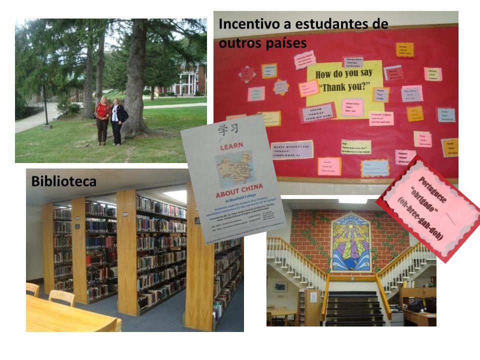 Incentivo a estudantes de outros países
