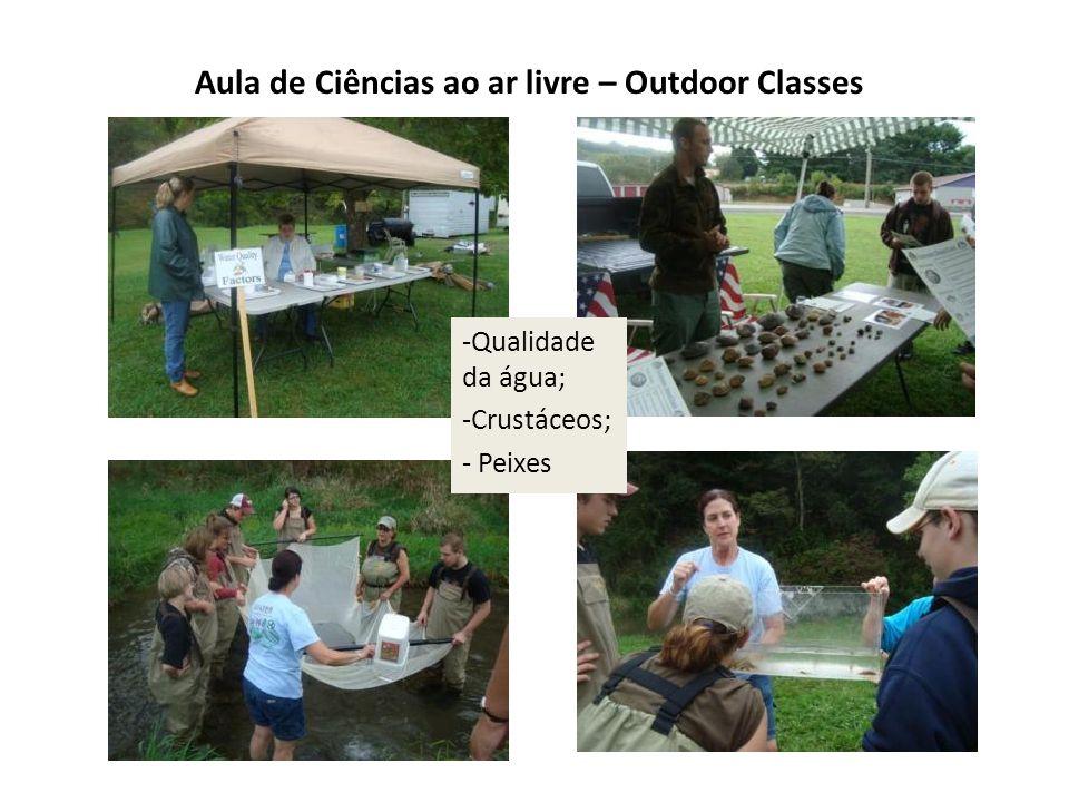 Aula de Ciências ao ar livre – Outdoor Classes