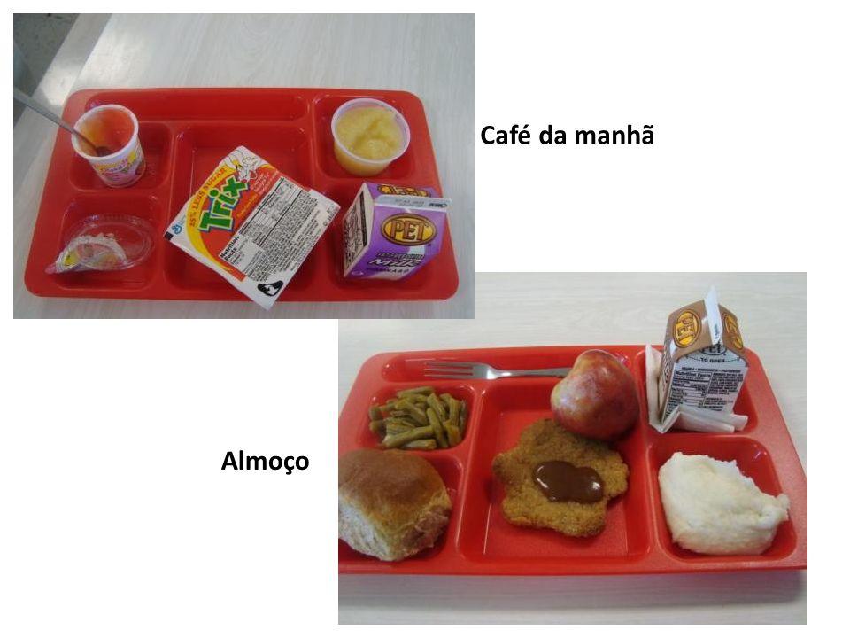 Café da manhã Almoço