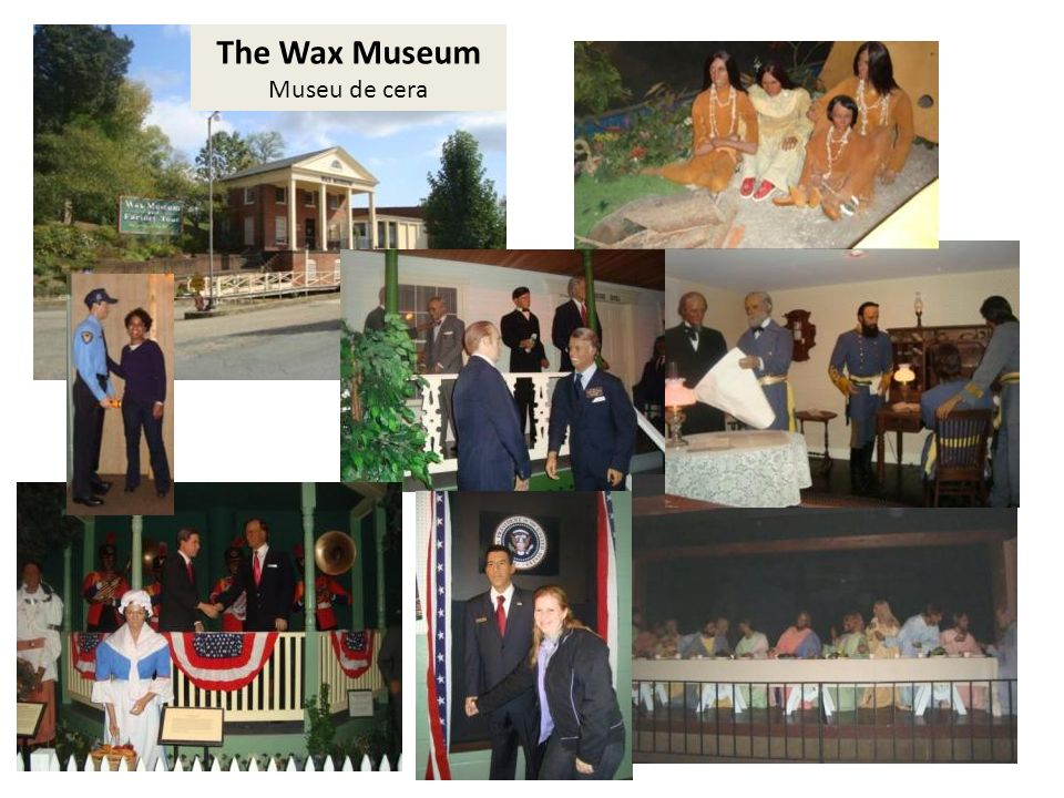 The Wax Museum Museu de cera