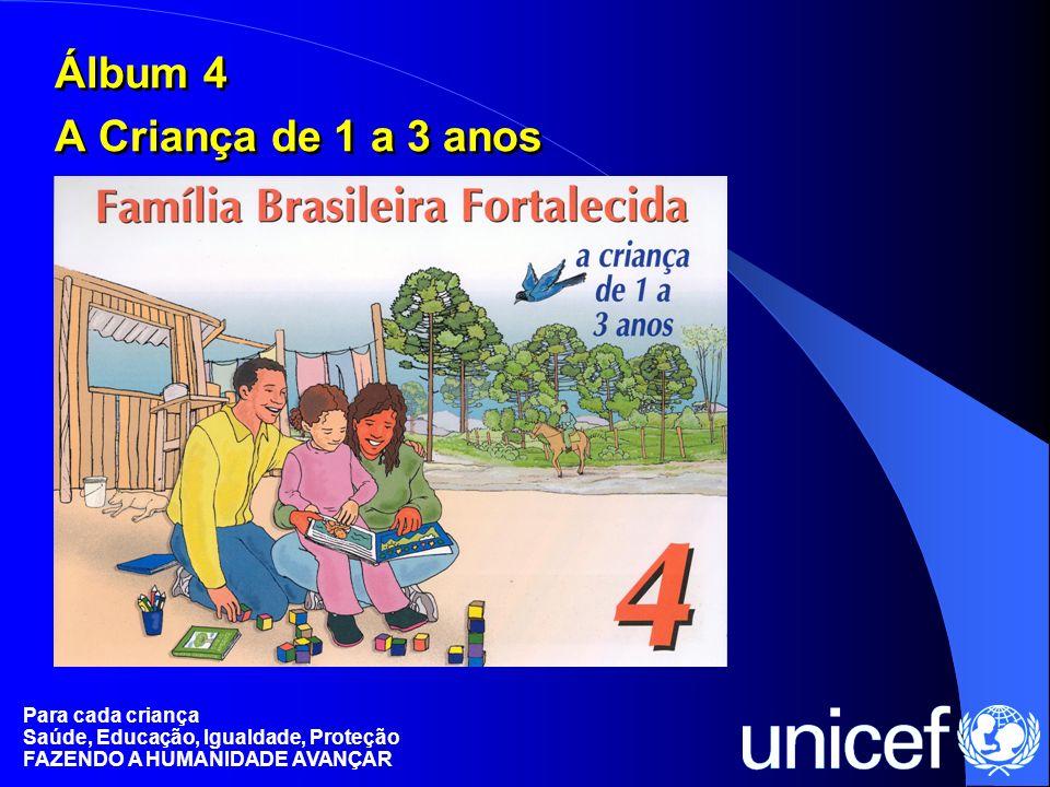 Álbum 4 A Criança de 1 a 3 anos