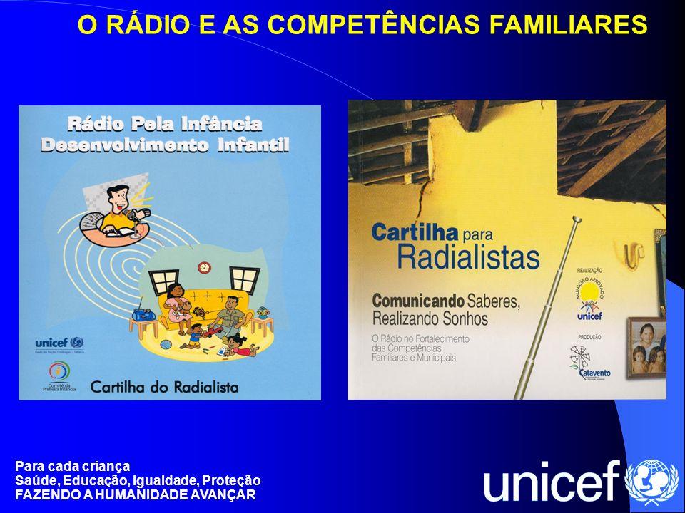 O RÁDIO E AS COMPETÊNCIAS FAMILIARES