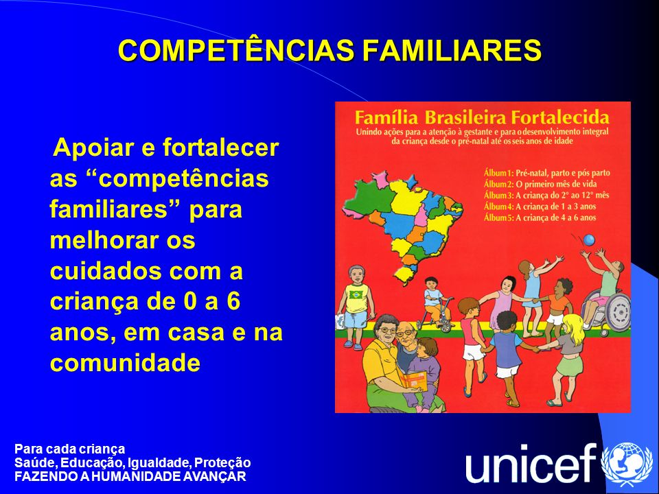 COMPETÊNCIAS FAMILIARES