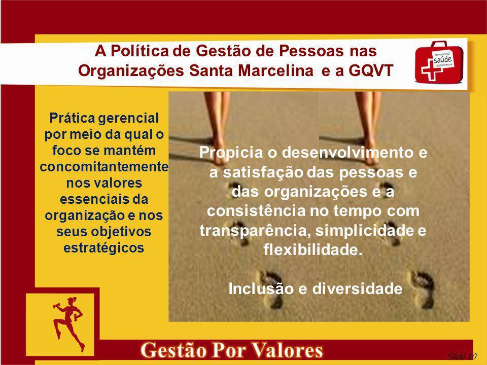 Gestão Por Valores A Política de Gestão de Pessoas nas