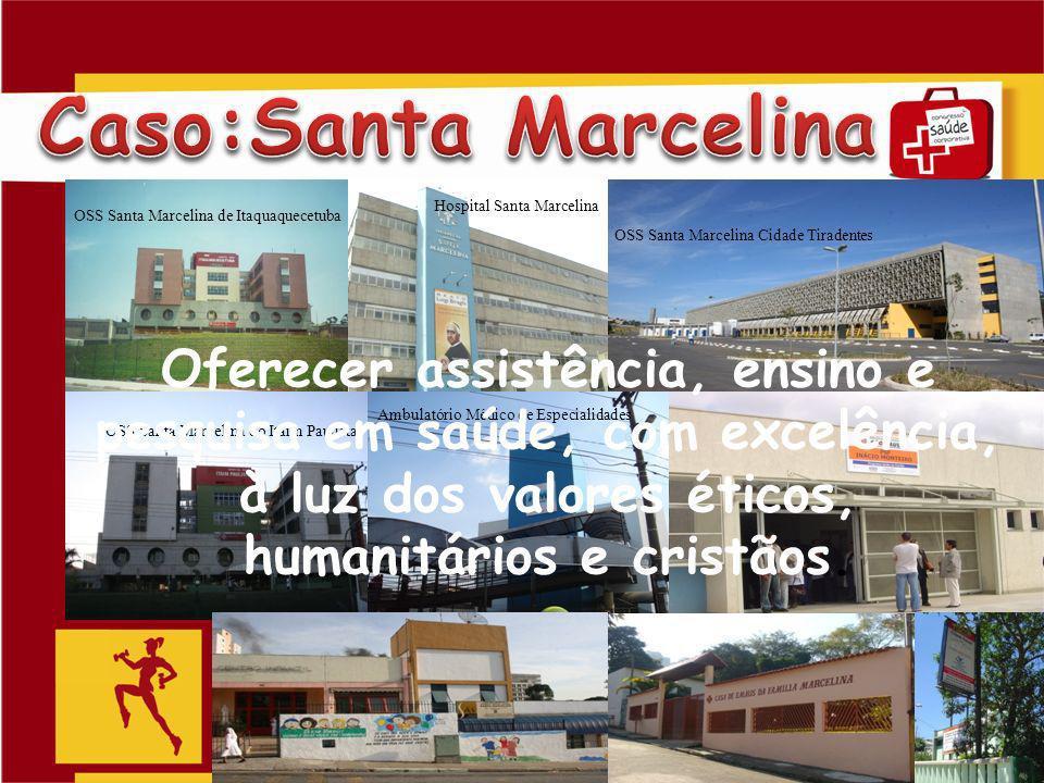 Caso:Santa Marcelina Hospital Santa Marcelina. OSS Santa Marcelina de Itaquaquecetuba. OSS Santa Marcelina Cidade Tiradentes.