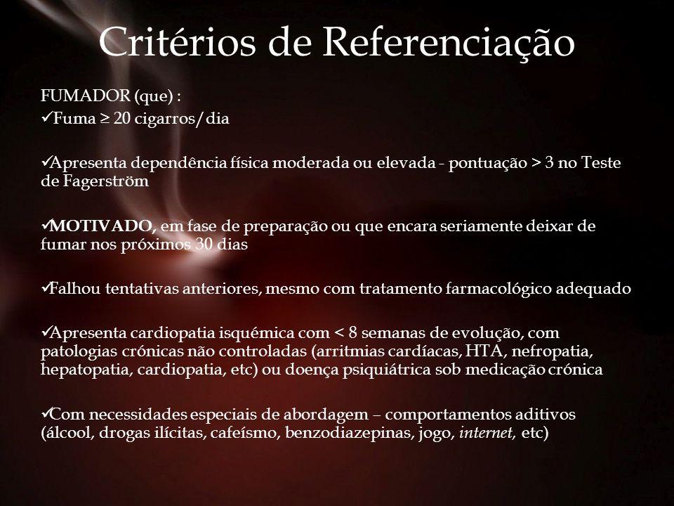 Critérios de Referenciação