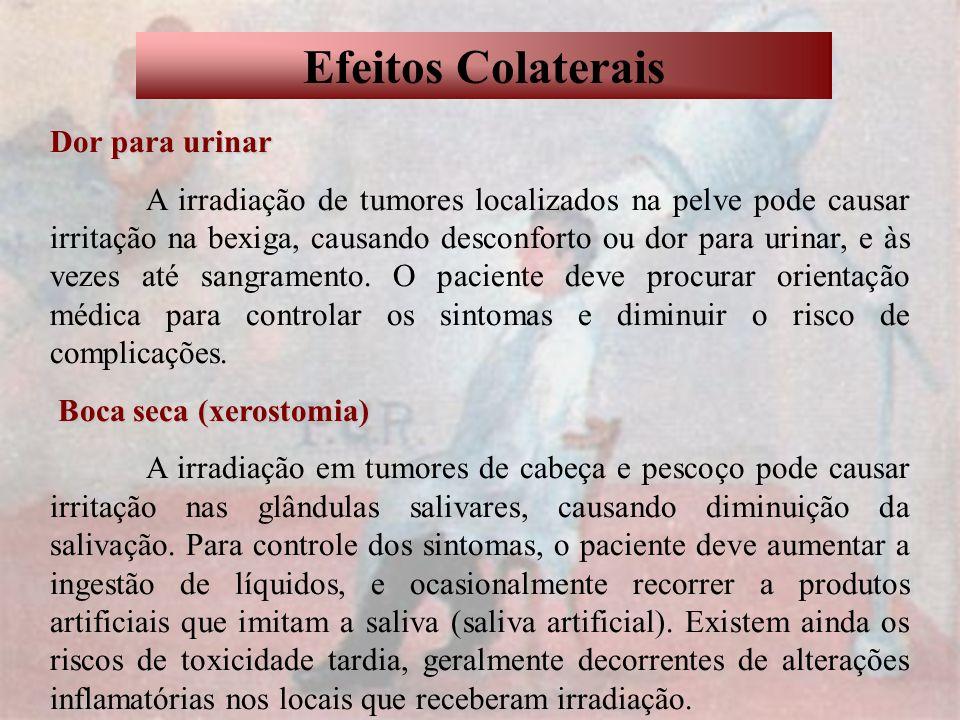 Efeitos Colaterais Dor para urinar