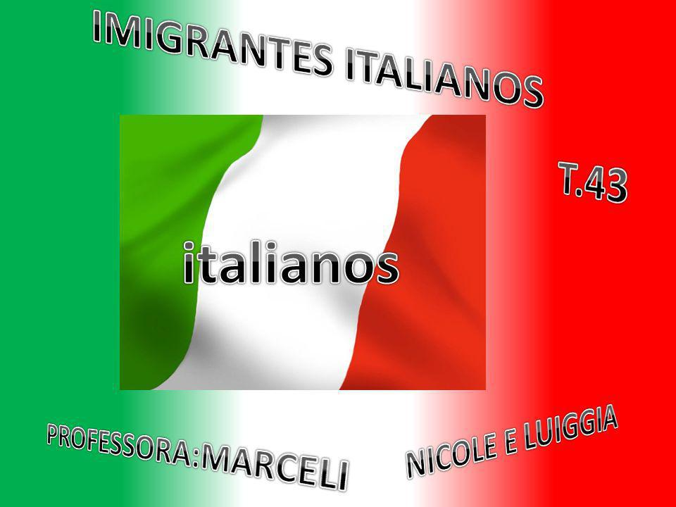 italianos IMIGRANTES ITALIANOS T.43 NICOLE E LUIGGIA