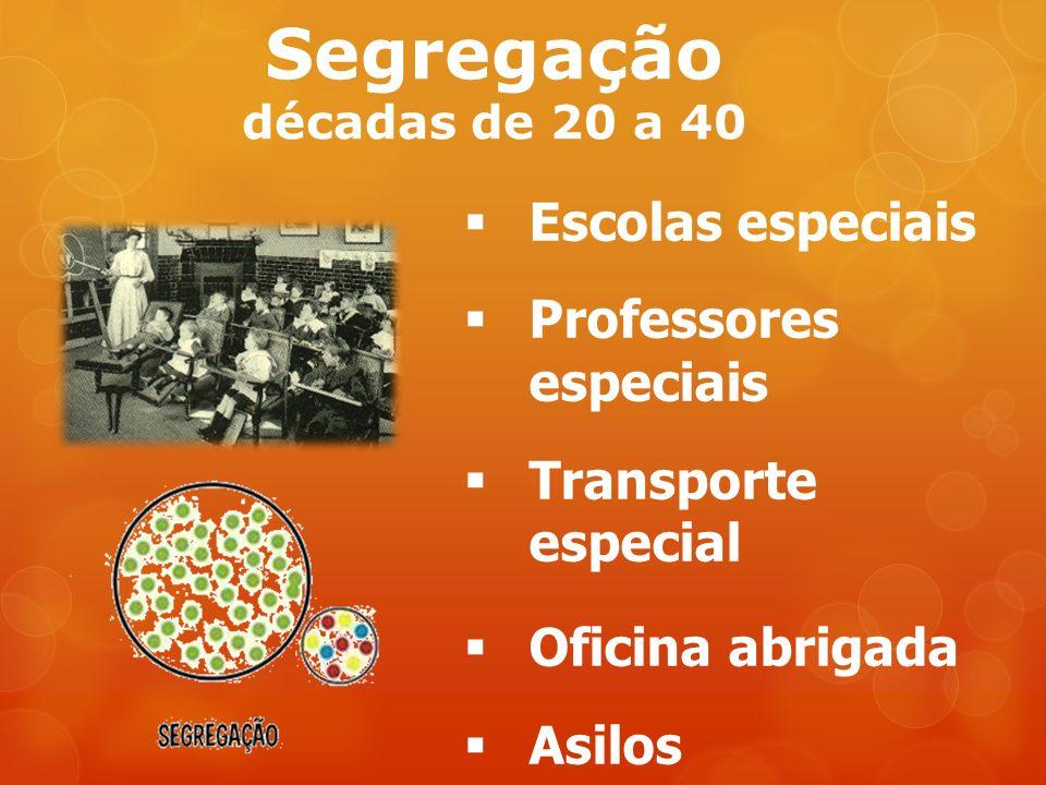 Segregação décadas de 20 a 40