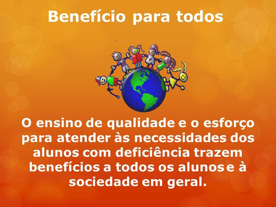 Benefício para todos