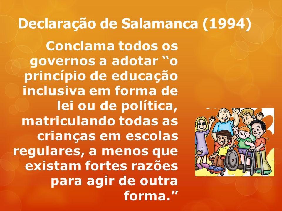 Declaração de Salamanca (1994)