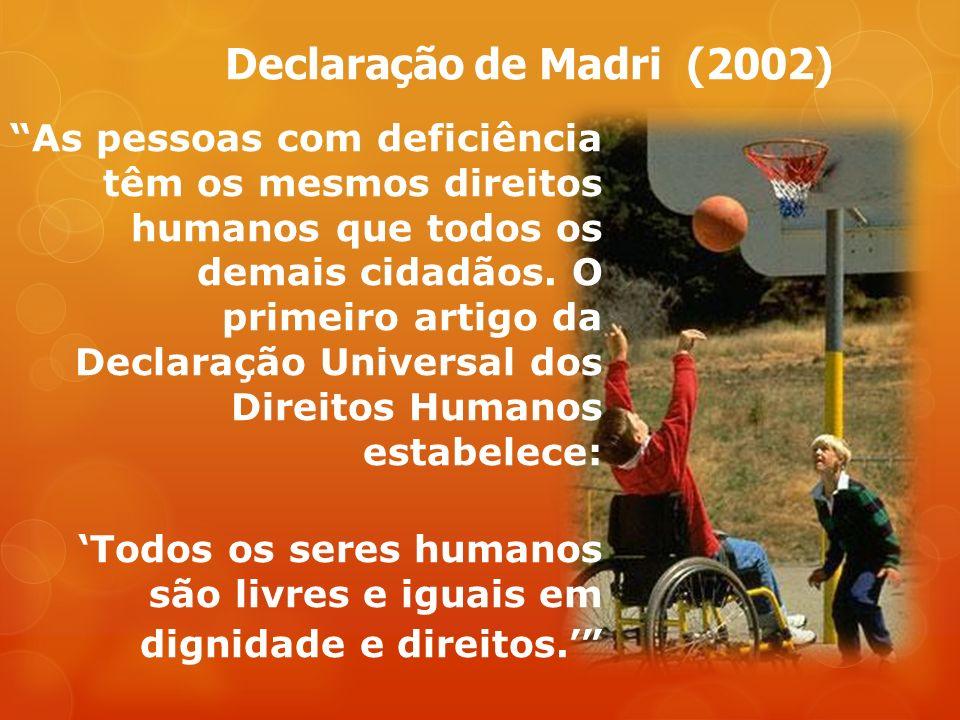 Declaração de Madri (2002)