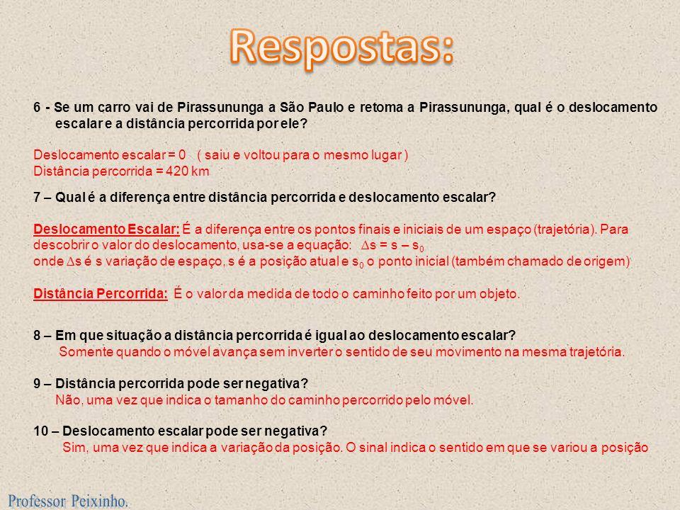 Respostas: Professor Peixinho.