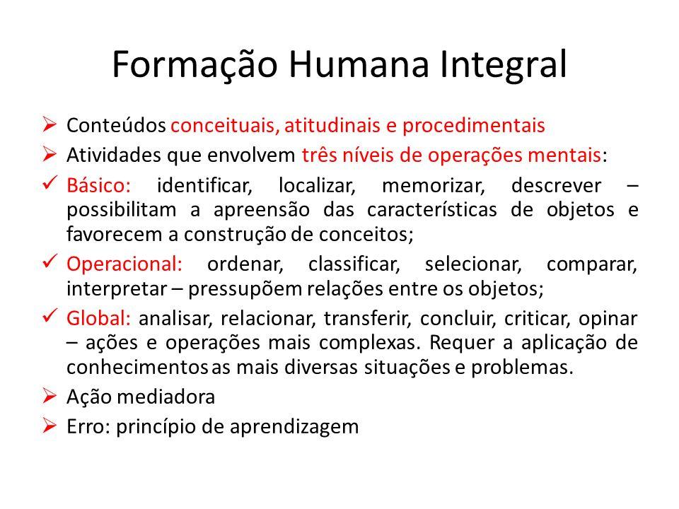 Formação Humana Integral