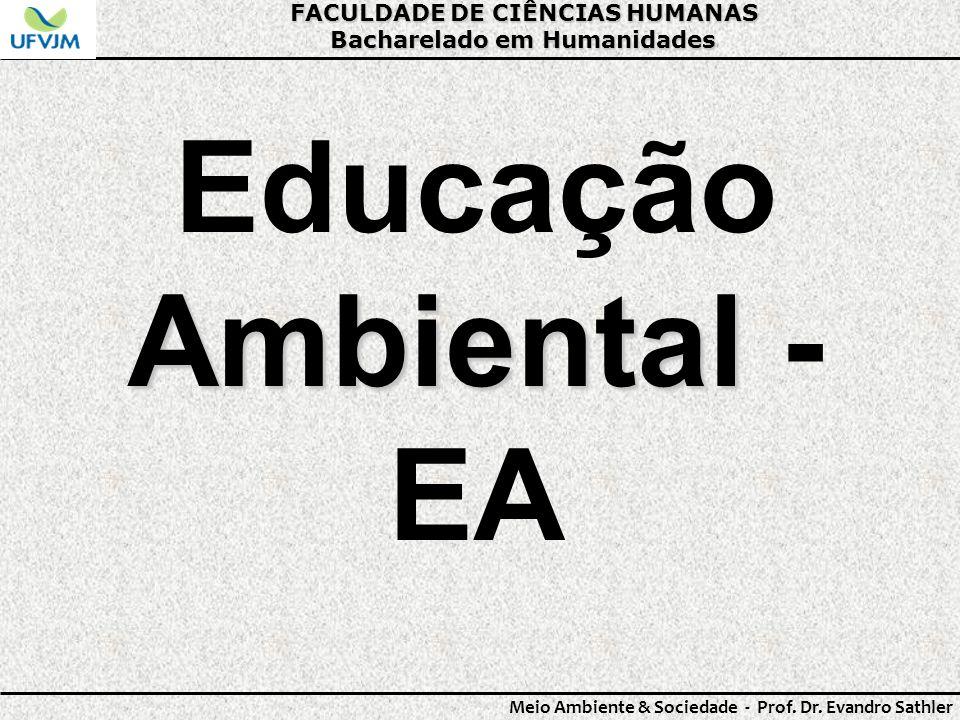 Educação Ambiental - EA