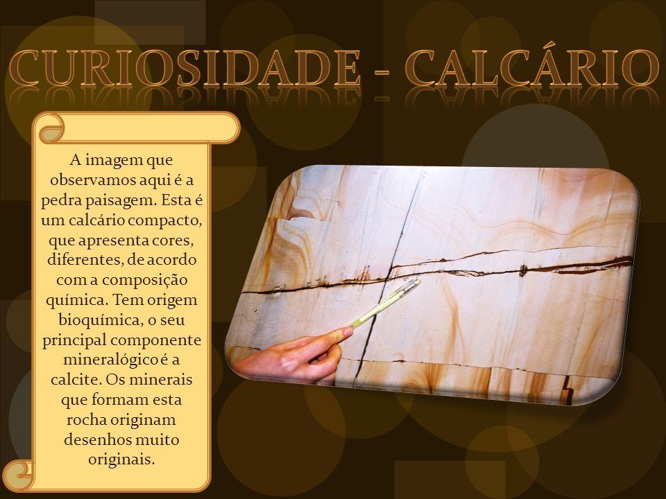 CURIOSIDAde - Calcário
