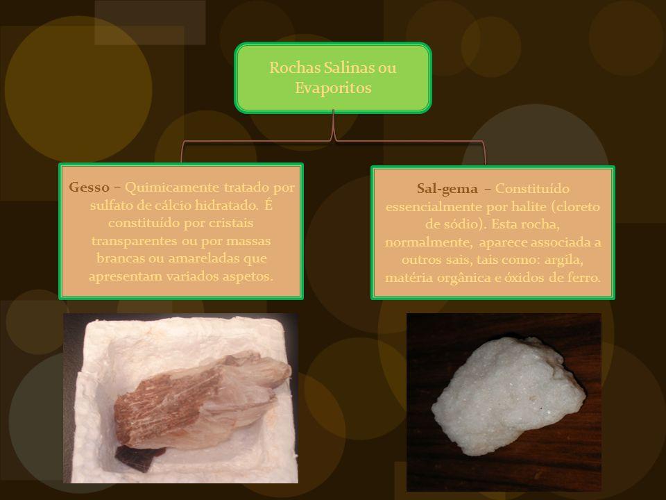 Rochas Salinas ou Evaporitos