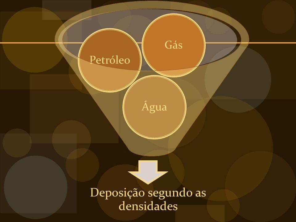 Deposição segundo as densidades