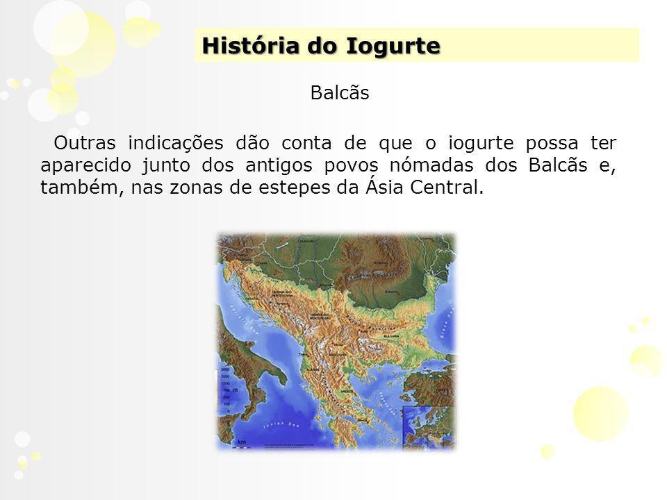 História do Iogurte Balcãs
