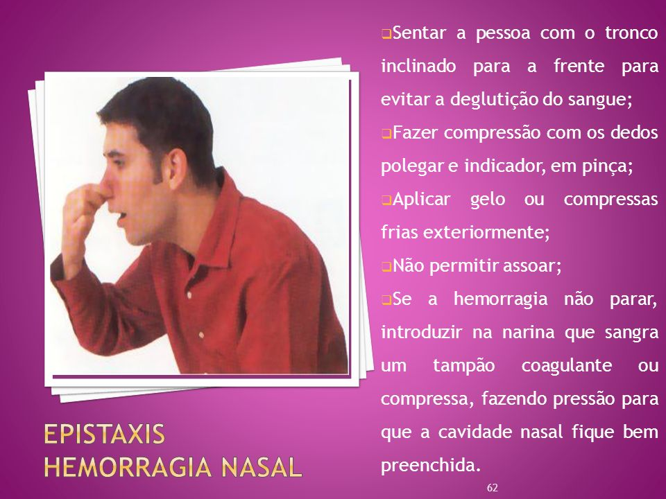 Epistaxis Hemorragia Nasal
